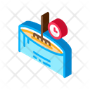 Cheese Melting Time Icon