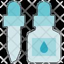 Pharmacy Liquid Dropper Pipette Icon