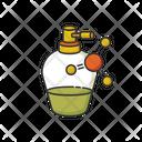 Liquid Keratin In Bottle Icon
