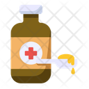 Liquid Medicine Capsules Medicine Icon