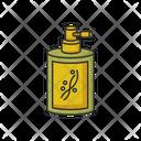 Liquid Silicon In Bottle Icon