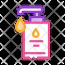 Bottle Hygiene Soap Icon