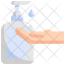 Soap Gel Hand Icon