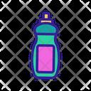 Disinfectant Soap Bottle Icon
