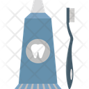 Dentifrice Liquid Teeth Powder Mouthwash Icon