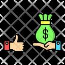 Liquidity Business Money Icon