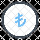 Lira Coin Finance Icon