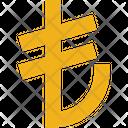 Business Finance Lira Icon