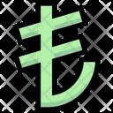 Business Financial Lira Icon