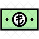 Lira Money Payment Icon