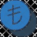 Lira Coins Invest Icon