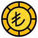 Lira Coin Currency Icon
