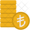 Lira Coins Icon