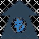 Lira Increase Lira Up Arrow Increase Arrow Icon