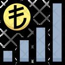 Liro Graph Earning Graph Money Icon