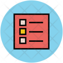 List Bulleted Checklist Icon