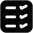 List To Dos Icon