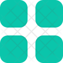 List Four Square Icon