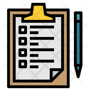 List Clipboard Tasks Icon
