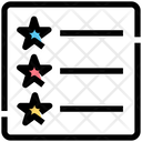 Layout List Sign Icon