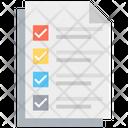 List Checklist Appointment Icon