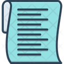 List Clipboard Document Icon