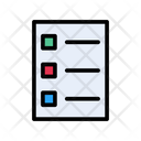 List Document Page Icon