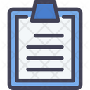 List Review Document Icon