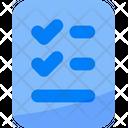 List Checklist Check Icon