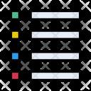 List Web Design Icon