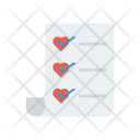 Favorite List Tick Icon