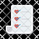 List Favorite Tick Icon