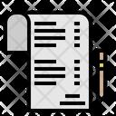 List Check Menu Icon