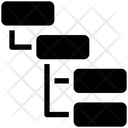 List Sitemap Structure Icon
