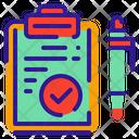 List Text Wishlist Icon