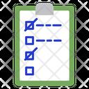 List Plan Planning Icon