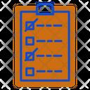 List Plan Planing Icon
