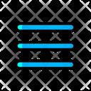 List Menu Detail Icon