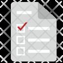 List Form Individual Icon