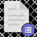 List Report Listing Icon
