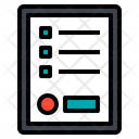 List Order Paper Icon