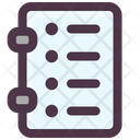 List Book Icon