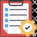 List Management Report Management List Setting Icon