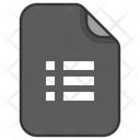 List Menu Task Icon