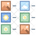 List Of Thumbnails Icon