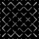 List three elements layout Icon