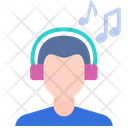 Listen Music Music Headphones Icon
