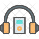 Listen Music Headphone Icon