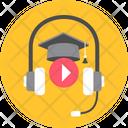 Listening Music Headphone Icon