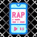 Listening Rap Music Icon